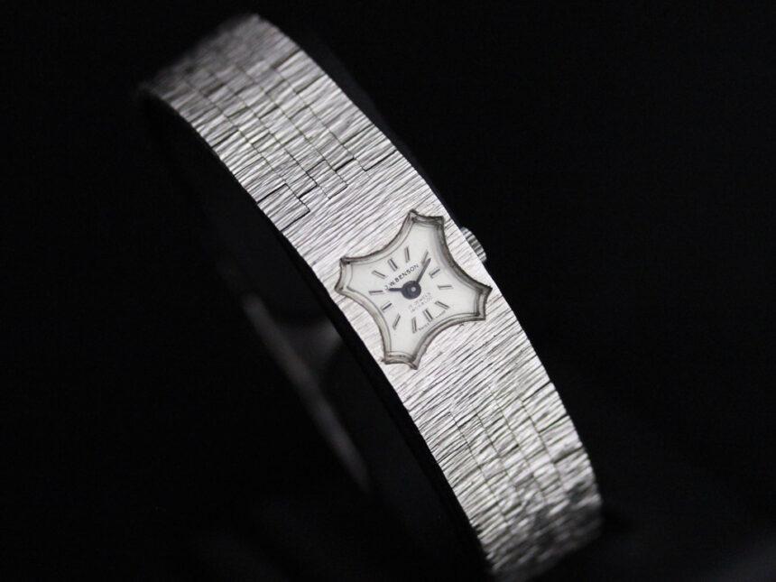 ベンソンのアンティーク腕時計-W1410-8