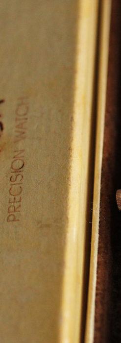 オメガ 金無垢ローズゴールドの女性用アンティーク腕時計 【1946年製】箱付き-W1186-12