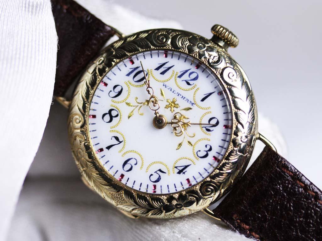ウォルサムのアンティーク腕時計-W1244-8