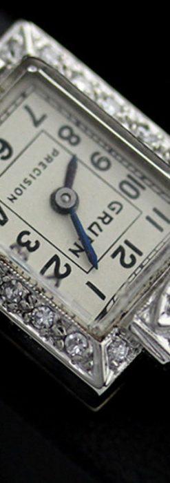 グリュエンのアンティーク腕時計-W1254-1