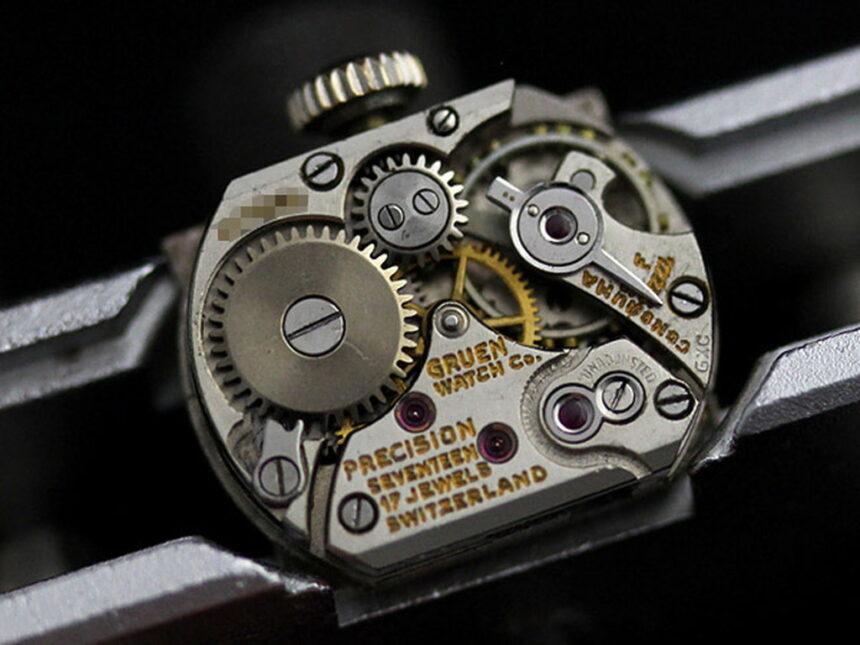 グリュエンのアンティーク腕時計-W1254-14