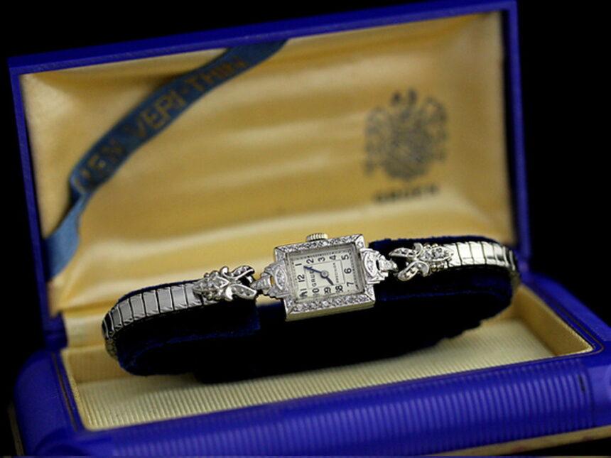 グリュエンのアンティーク腕時計-W1254-16