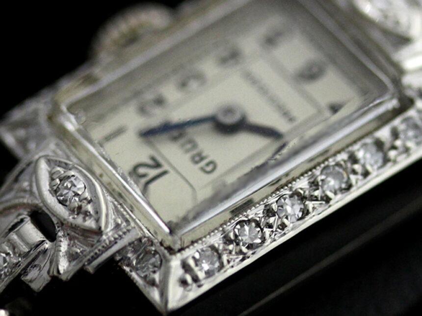 グリュエンのアンティーク腕時計-W1254-2