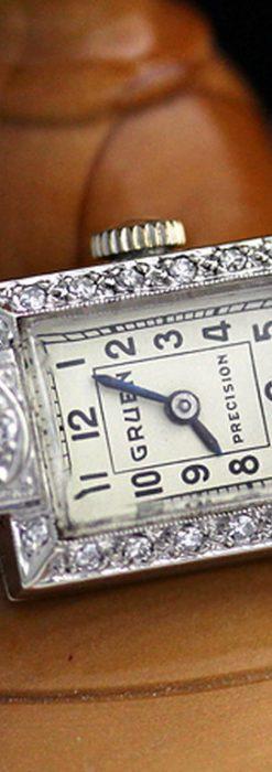 グリュエンのアンティーク腕時計-W1254-4
