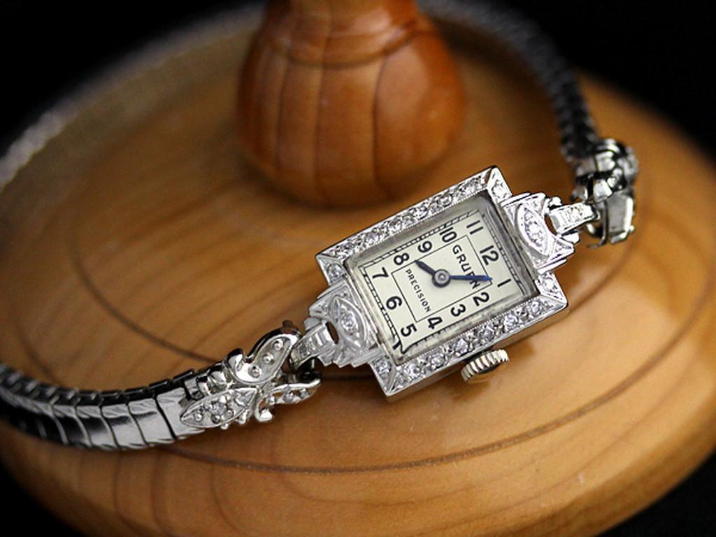 グリュエンのアンティーク腕時計-W1254-5
