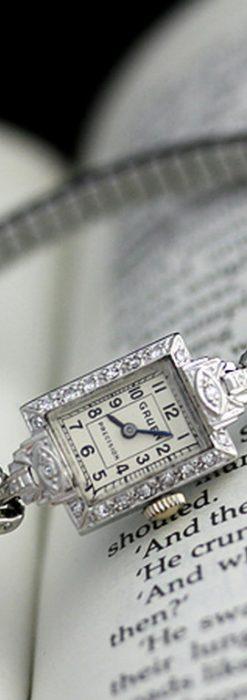 グリュエンのアンティーク腕時計-W1254-7
