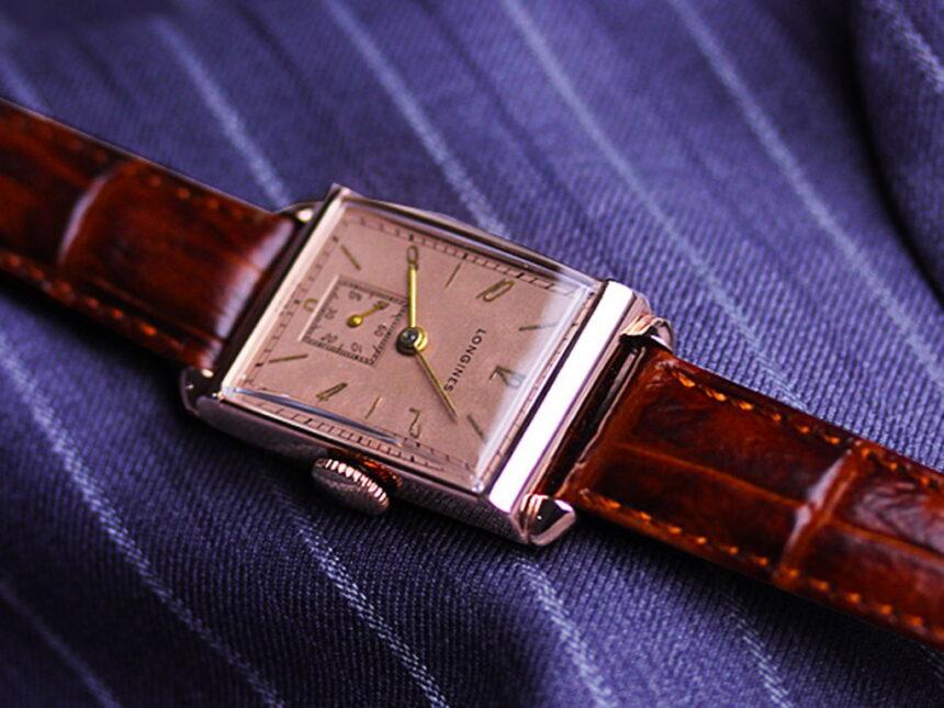 ロンジンのアンティーク腕時計-W1303-1