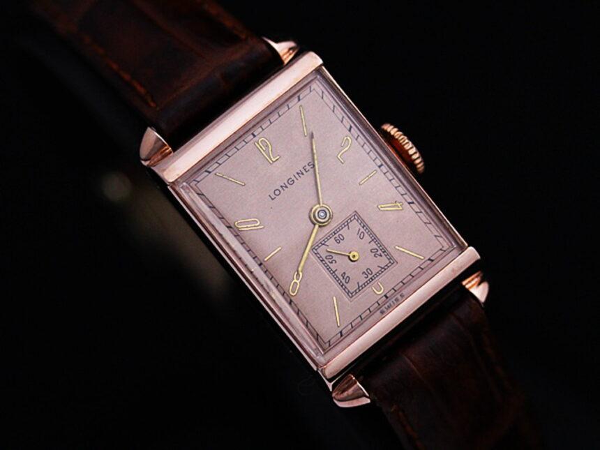 ロンジンのアンティーク腕時計-W1303-9