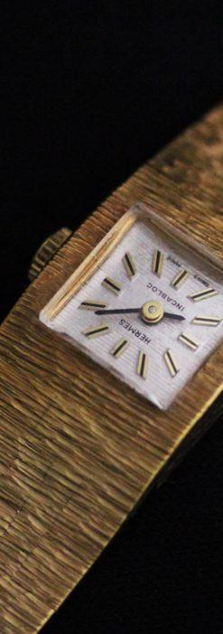エルメスのアンティーク腕時計-W1411-1