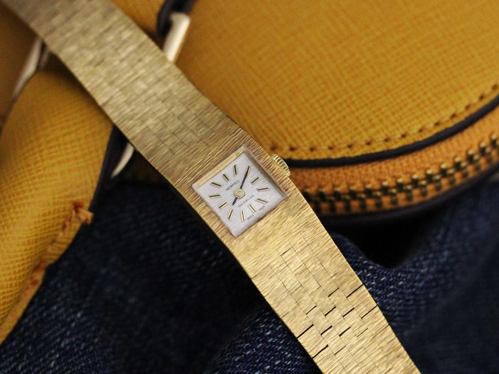 エルメスのアンティーク腕時計-W1411-2