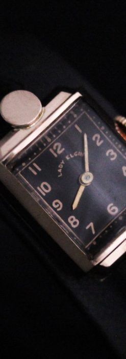 エルジンのアンティーク腕時計-W1412-13