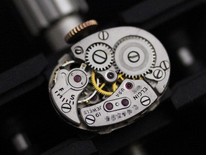 エルジンのアンティーク腕時計-W1412-17