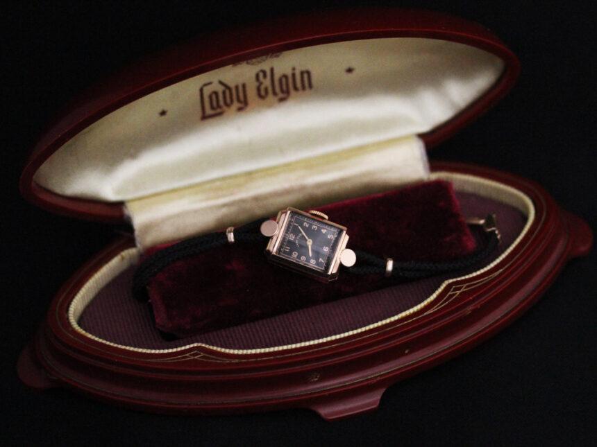 エルジンのアンティーク腕時計-W1412-8