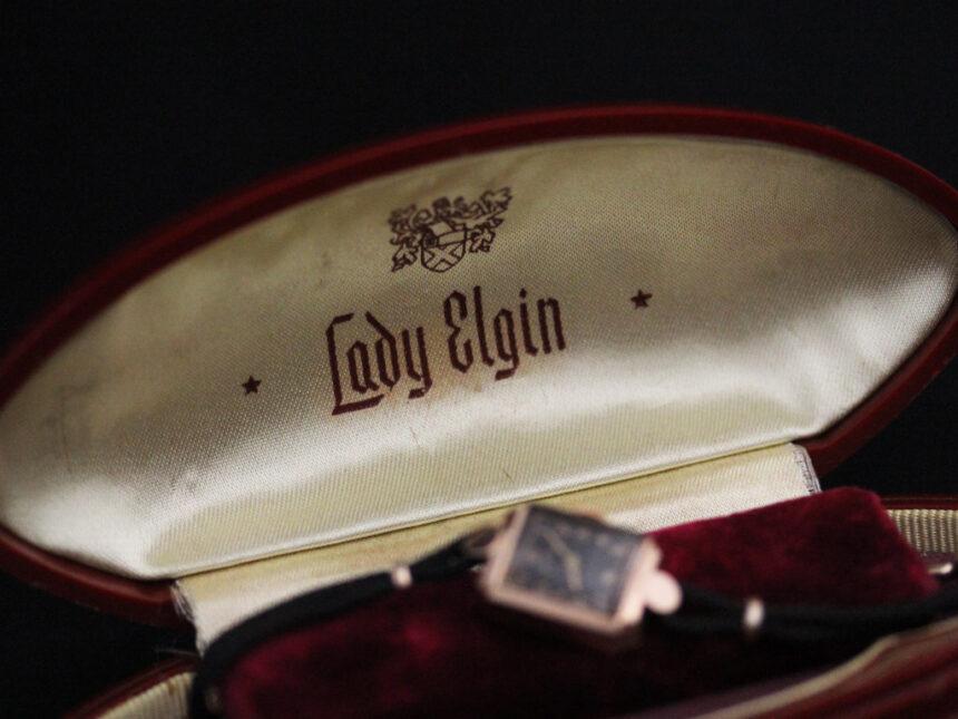 エルジンのアンティーク腕時計-W1412-9