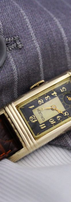 グリュエンのアンティーク腕時計-W1414-1