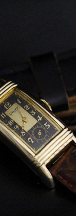 グリュエンのアンティーク腕時計-W1414-3