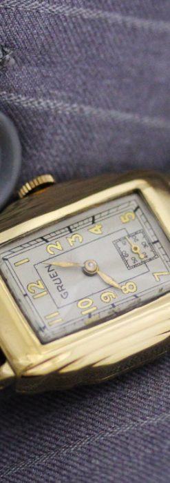グリュエンのアンティーク腕時計-W1415-1