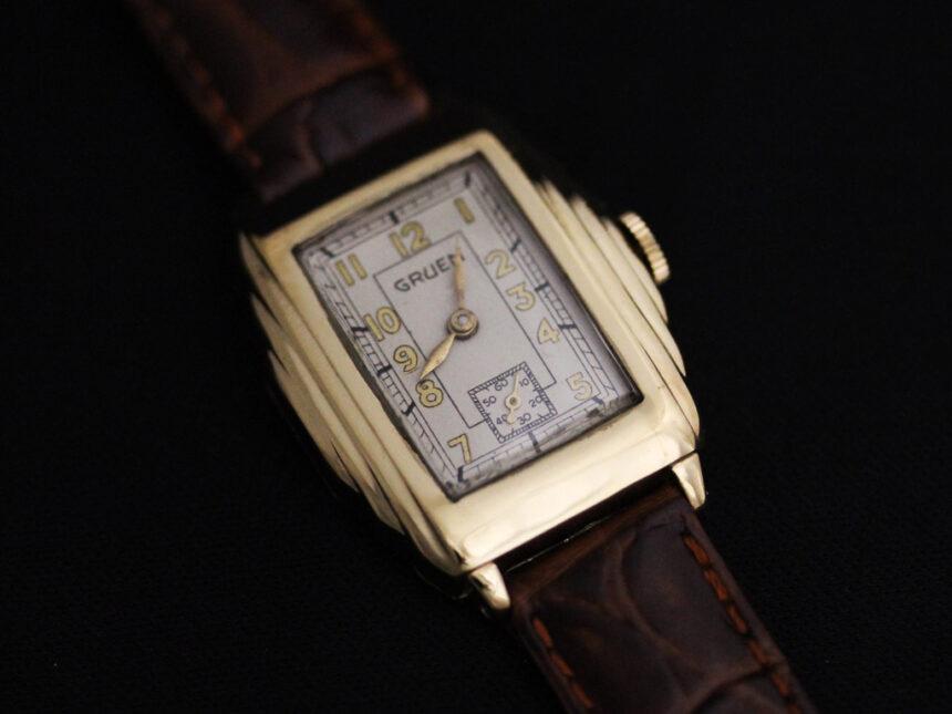 グリュエンのアンティーク腕時計-W1415-10