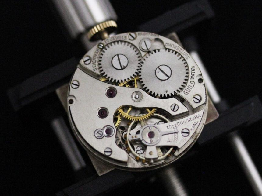 グリュエンのアンティーク腕時計-W1415-15