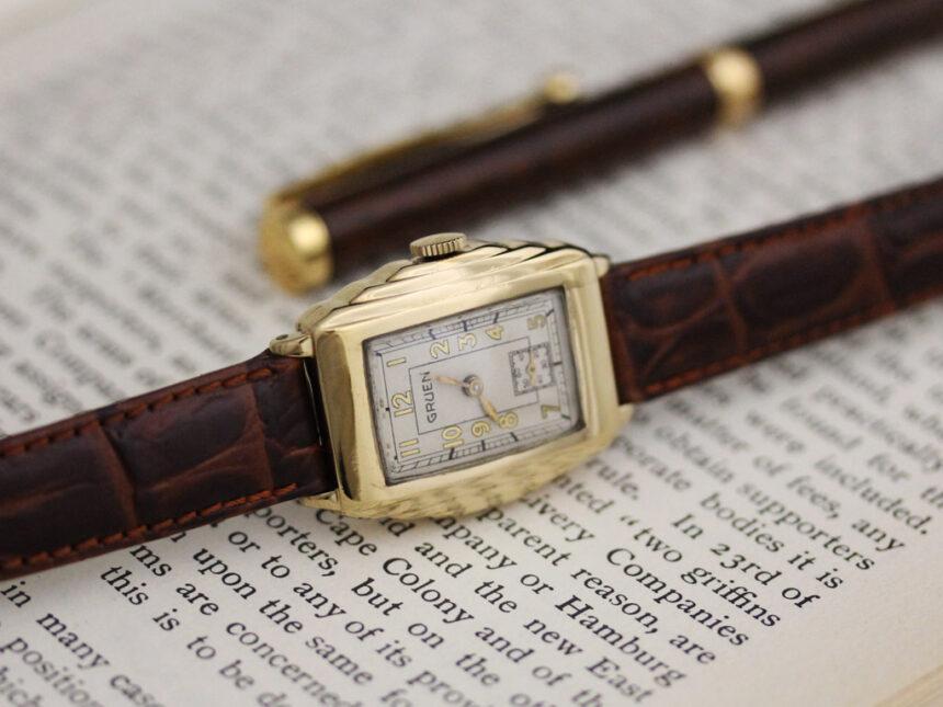 グリュエンのアンティーク腕時計-W1415-3