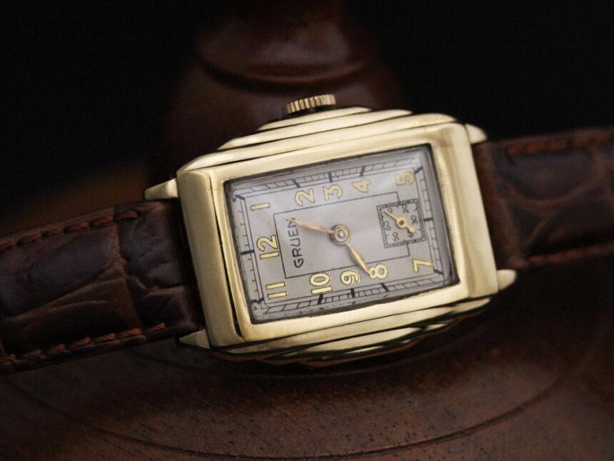 グリュエンのアンティーク腕時計-W1415-5