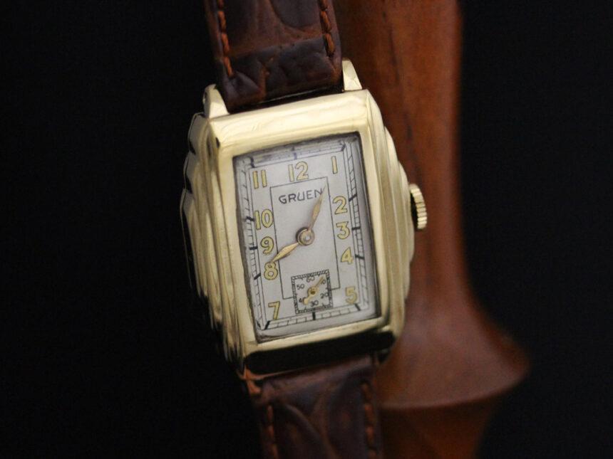 グリュエンのアンティーク腕時計-W1415-7