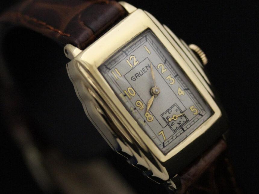 グリュエンのアンティーク腕時計-W1415-8