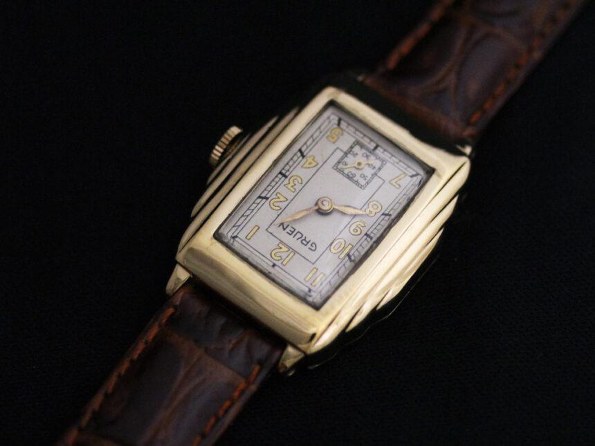 グリュエンのアンティーク腕時計-W1415-9