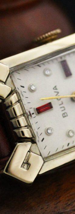 ブローバのアンティーク腕時計-W1417-2