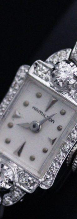 ハミルトンのアンティーク腕時計-W1422-1