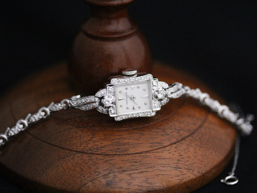 ハミルトンのアンティーク腕時計-W1422-10