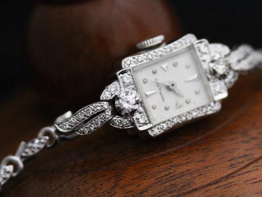 ハミルトンのアンティーク腕時計-W1422-11