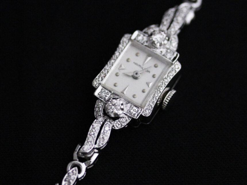 ハミルトンのアンティーク腕時計-W1422-14