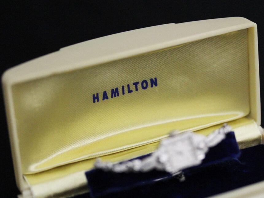 ハミルトンのアンティーク腕時計-W1422-16