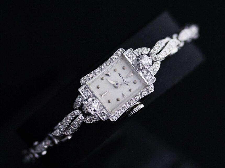 ハミルトンのアンティーク腕時計-W1422-19