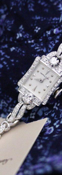 ハミルトンのアンティーク腕時計-W1422-2