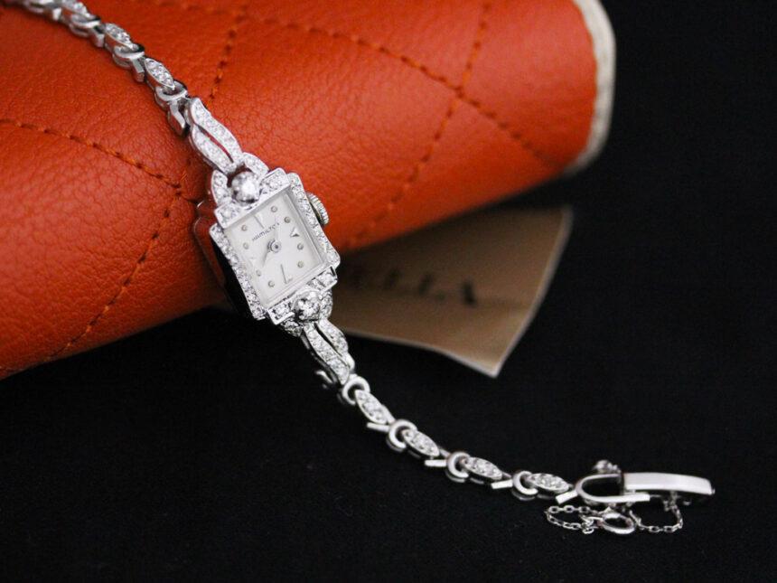 ハミルトンのアンティーク腕時計-W1422-3