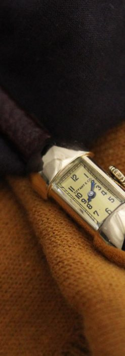 ティファニーのアンティーク腕時計-W1423-1