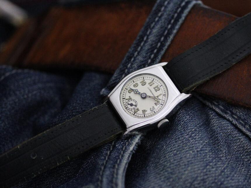 ユンハンスのアンティーク腕時計-W1425-2