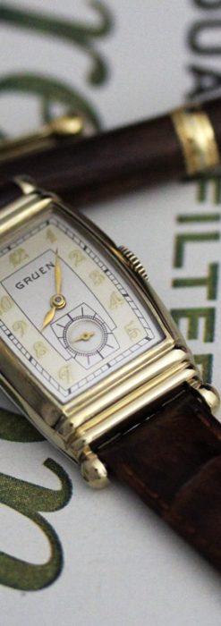 グリュエンのアンティーク腕時計-W1429-1