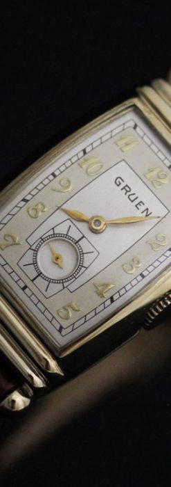 グリュエンのアンティーク腕時計-W1429-10