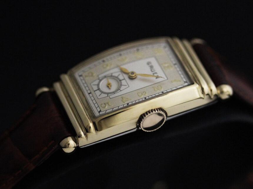 グリュエンのアンティーク腕時計-W1429-11