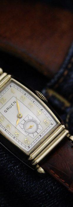 グリュエンのアンティーク腕時計-W1429-4