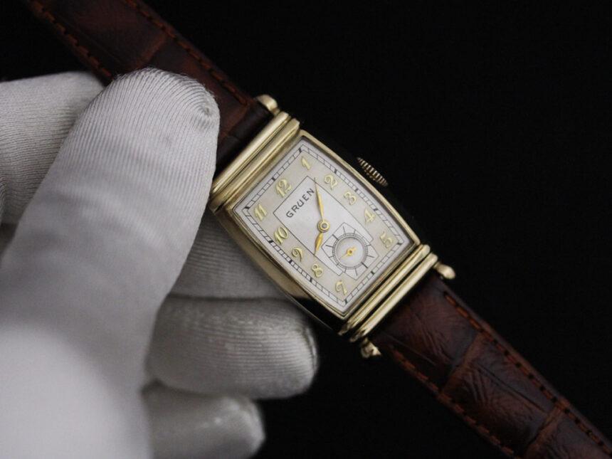 グリュエンのアンティーク腕時計-W1429-7