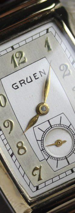 グリュエンのアンティーク腕時計-W1429-8