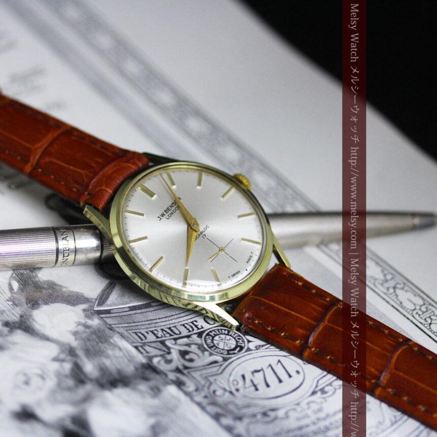 ベンソンのアンティーク腕時計-W1430-2