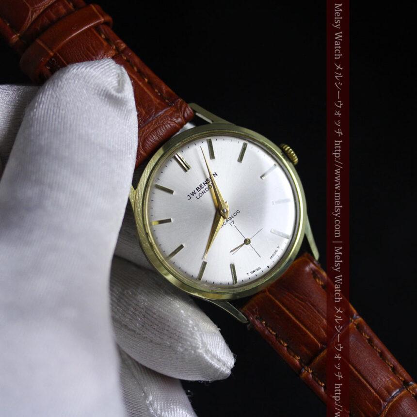 ベンソンのアンティーク腕時計-W1430-6