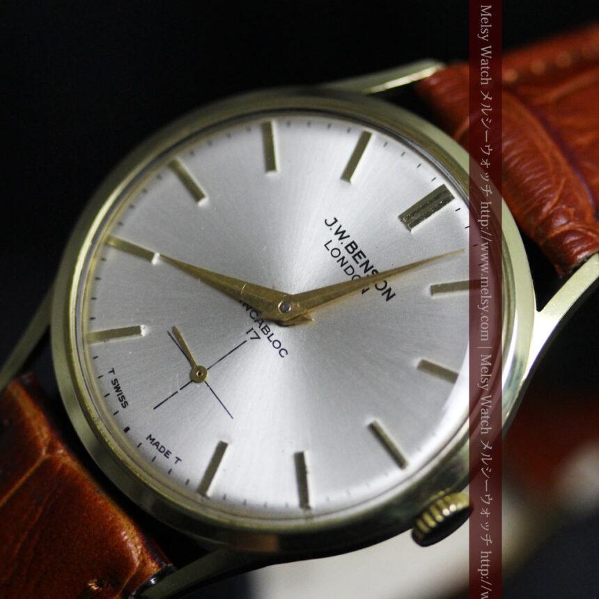 ベンソンのアンティーク腕時計-W1430-7