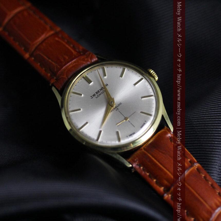 ベンソンのアンティーク腕時計-W1430-9