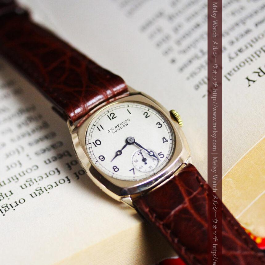 ベンソンのアンティーク腕時計-W1432-1